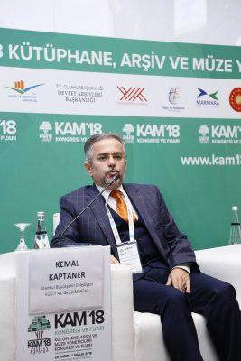 İBB Kültür A.Ş. Genel Müdürü Kemal Kaptaner